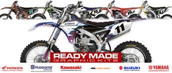 Decal Works Custom Mx Bike Graphics