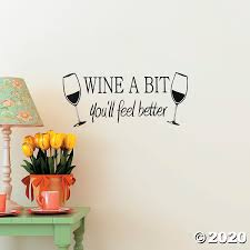 Wine A Bit Wall Decals Discontinued