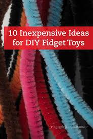 10 inexpensive ideas for diy fidget