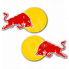 Red Bull Racing Car Sticker Set Red Bull Racing Car Bumper Stickers Sticker Set