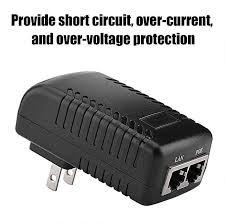 ethernet poe power supply wall plug