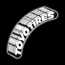 Toyo Tires Tire Stickers White And Black Custom Tire Letters