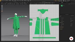 clothing design with marvelous designer