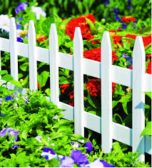 White Wooden Garden Picket Fence 36 In X 18 In Rc74w Greenes Fence Greenes Fence Company