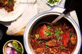 Crab Curry Maharashtrian Style