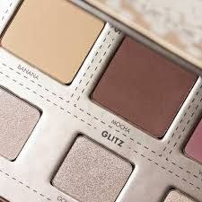 glitzy palette make up for ever for a 4