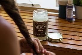 coconut oil as a hair scalp treatment