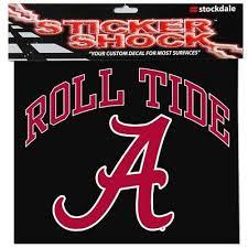 University Of Alabama Crimson Tide Retro A Ncaa Color Die Cut Vinyl Decal 2 28