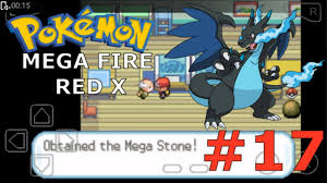 Pokemon Meta Fire Red X || PART 17 HD ( MEGA STONE + MEGA CHARIZARD + HM  FLY )