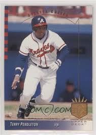 1993 Upper Deck SP - [Base] #61 - Terry Pendleton