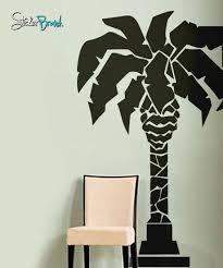 Vinyl Wall Decal Sticker Palm Tree Statue 192 Stickerbrand