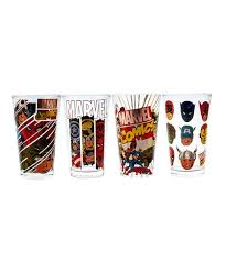 llc marvel comics retro pint glass