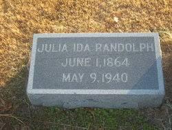 Julia Ida Roberts Randolph (1864-1940) - Find A Grave Memorial