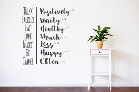 Wall Vinyl Decal Sticker Family Inspiration Motivation Om Affirm You Are Loved