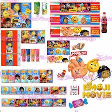 2 Kit Imprimibles Emoji Movie Emojis Tarjetas Cumple Fiesta