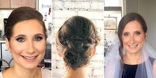 wedding hair and makeup trials