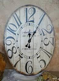wooden large antiquite de paris oval