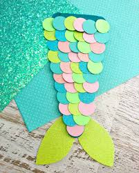 Easy Mermaid Tail Craft - Stylish Cravings Easy To Make Crafts
