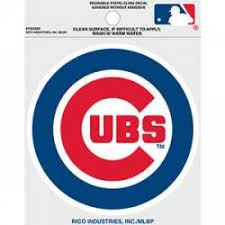 Chicago Cubs Stickers Decals Bumper Stickers