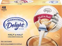 half half coffee creamer