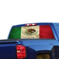 Perforated Graphic Chevrolet Silverado Decal 2015 Present
