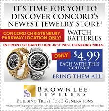 brownlee jewelers greenspan advertising