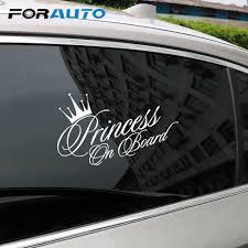 Princess On Board Streetbadge