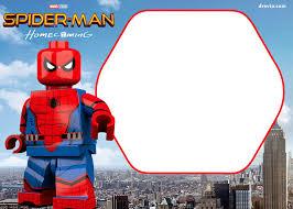 Free Printable Marvel S Lego Invitation Invitaciones De Lego