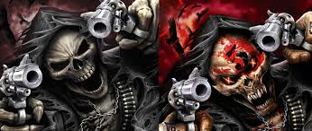 Five Finger Death Punch Look To Have Borrowed Art For New Album Cover May Be Censored In Certain Countries Updated Theprp Com