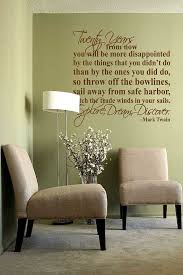 Explore Dream Discover Mark Twain Quote Vinyl Wall Decal Sticker Art With Images Stratton Home Decor Geometric Tiles Metal Wall Decor