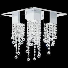 endon senza 4ch crystal ceiling light