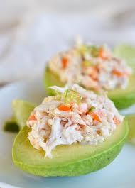 Crab and Quinoa Salad Stuffed Avocados ...