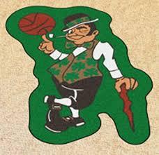 Boston Celtics Nba Mascot Area Rug Sports Nut Emporium