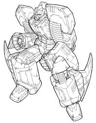 Kleurplaten En Zo Kleurplaten Van Transformers
