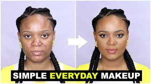simple everyday makeup tutorial for
