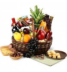 wine fruit baskets