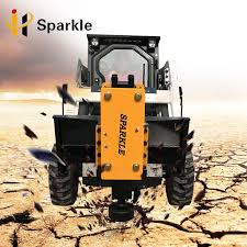 Hydraulic Fence Post Driver Machine For Excavator Tractor Skid Loader Post Driver Buy Hydraulic Post Driver Fence Post Machine Post Driver Product On Alibaba Monster Trucks Excavator Tractors
