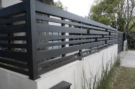 35 Fabulous Modern Fence Design Ideas Best For Your Privacy In 2020 Modern Fence Design Fence Design Balcony Railing Design