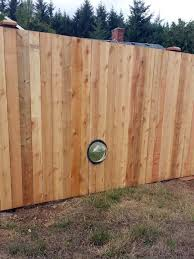 Pooch Porthole For Privacy Ajb Landscaping Fence