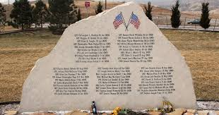 Have You Seen My Roots?: Military Monday - Fort Carson GWOT Fallen  Soldiers' Memorial, 2005-2006