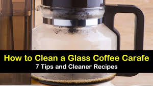 how to clean a gl coffee carafe 7