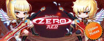 maplestory red zero maplestory