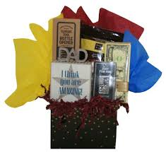 father s day gift basket for him