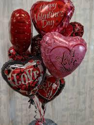 valentine love balloon bouquet helium