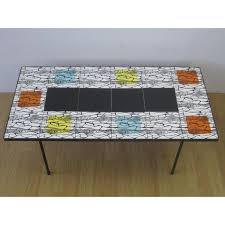 heals tiled topped coffee table