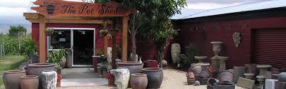 the pot shed pots garden ornaments