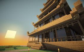 I M Asian So I Made A Pagoda Minecraft