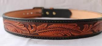 handmade leather belt custom belt jeans