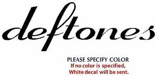 Deftones Metal Music Rock Band Funny Jdm Vinyl Sticker Decal Car Window Wall 12 Ebay