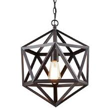 geometric pendant light hexagon hanging